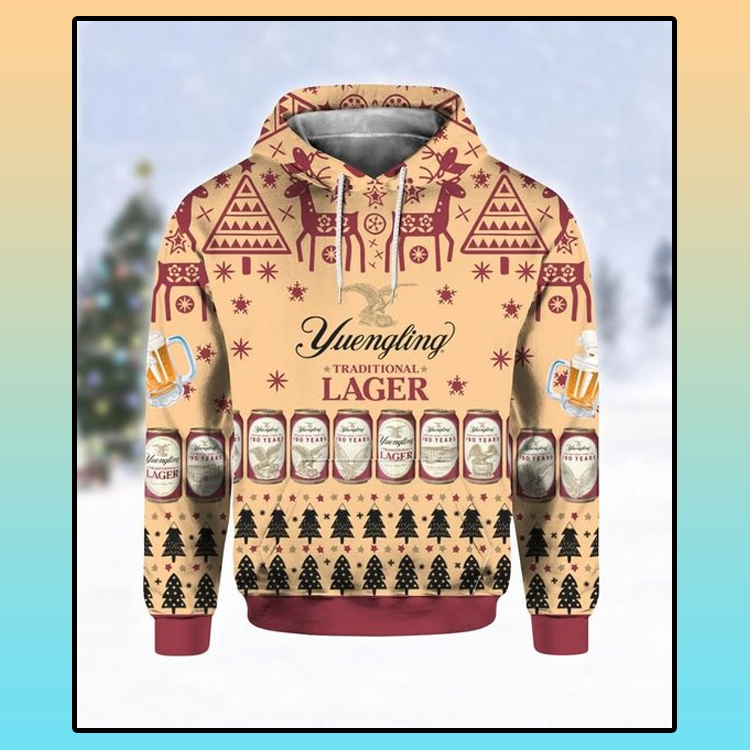 Yuengling lager beer all over print 3d hoodie1 1