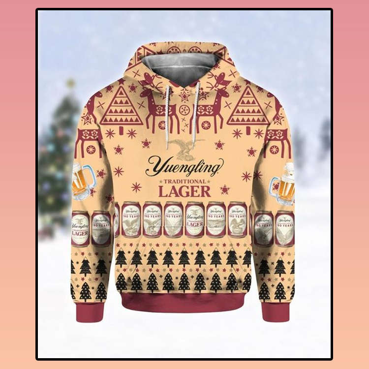 Yuengling lager beer all over print 3d hoodie2 1