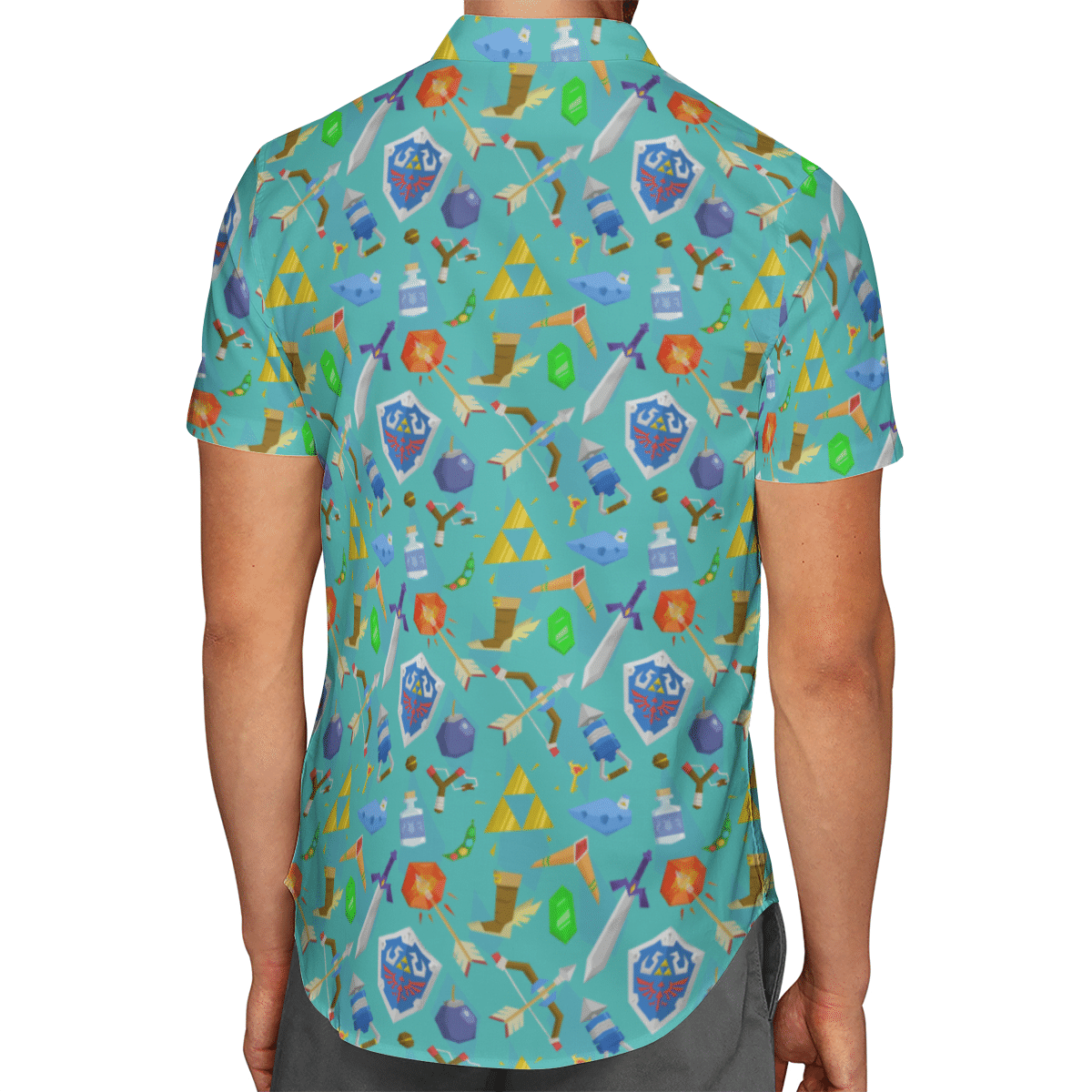 Zelda Item Hawaiian shirt 2