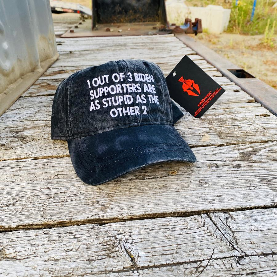 1 Out Of 3 Biden Supporters Are As Stupid As The Other 2 cap hat
