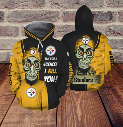 Achmed Pittsburgh Steelers Haters Silence I Kill You 3d hoodie
