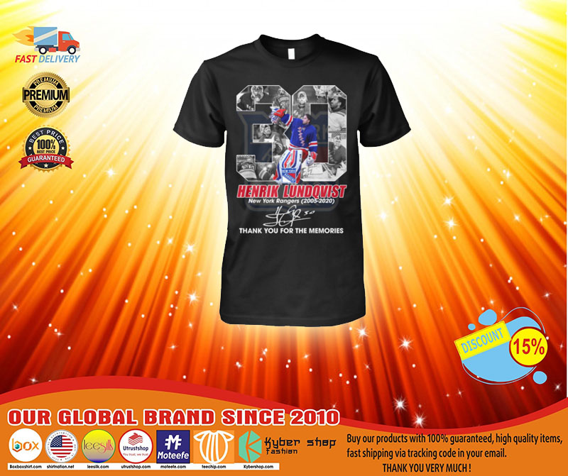 30 Hentik Lundqvist thank you for the memories shirt