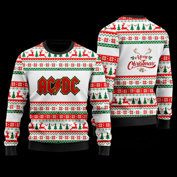 ACDC 48th anniversary 1973 2021 Christmas sweater 2