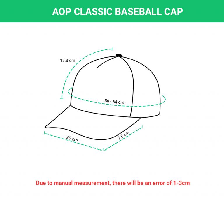 AOP Classic Baseball Cap