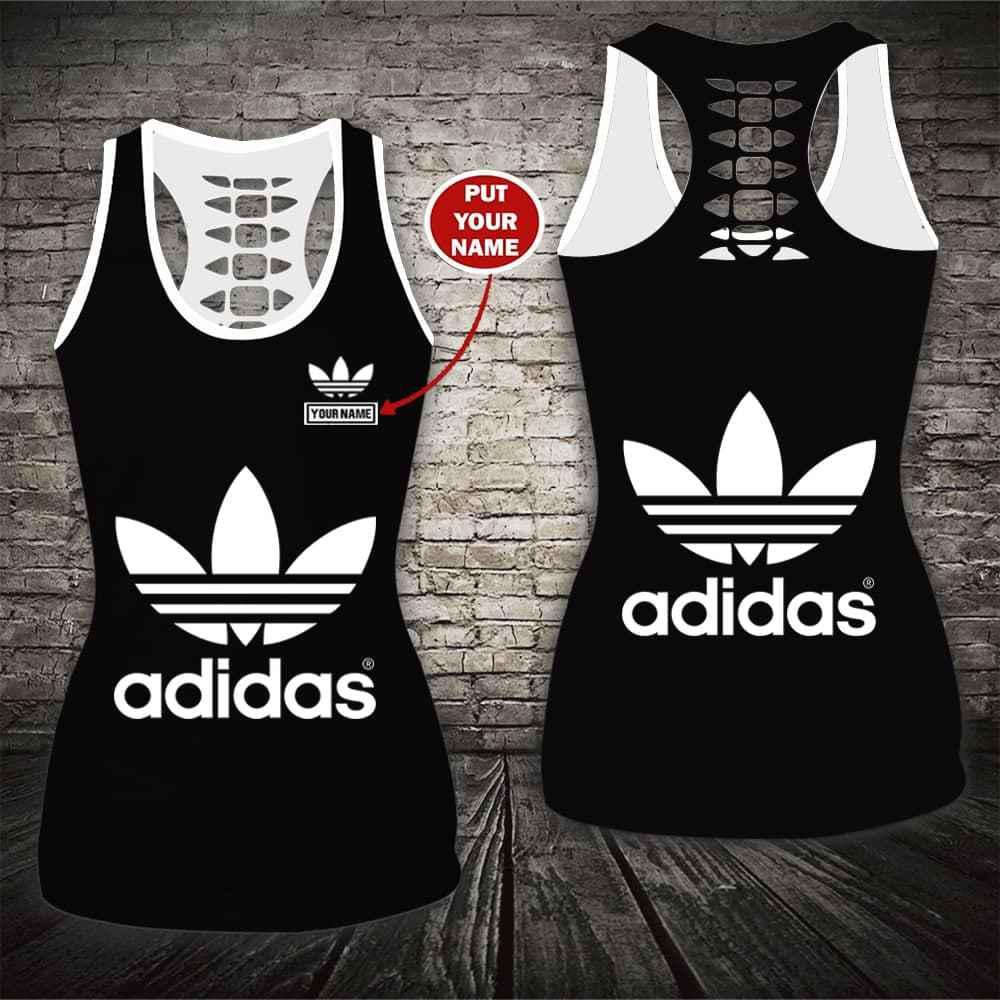 Adidas custom name tank top and legging 1