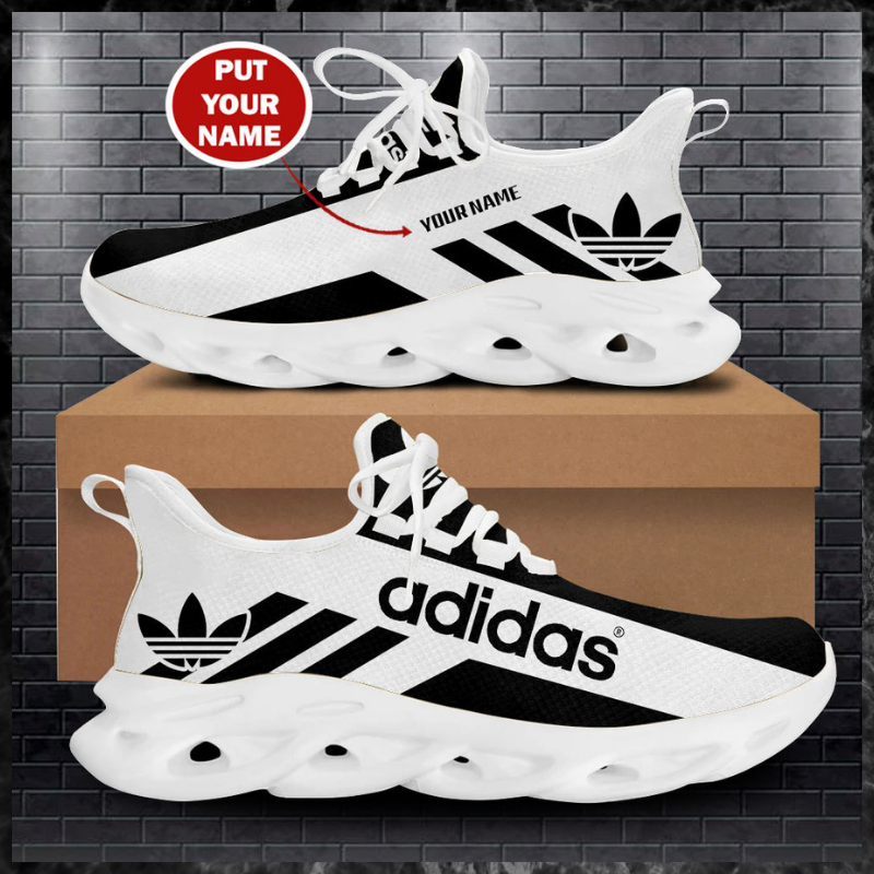 Adidas custom name yeezy max soul clunky shoes 1