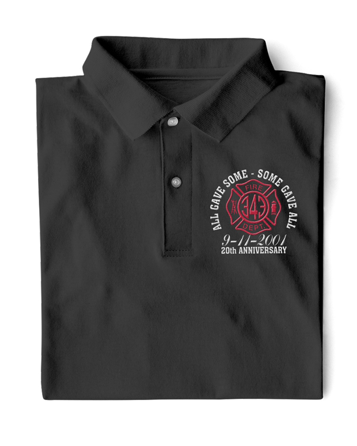 All Gave Some Some Gave All 9 11 2001 20th Anniversary Polo Shirt