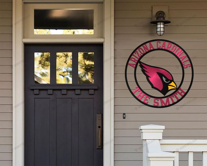 Arizona Cardinals customized cut metal sign wall decor