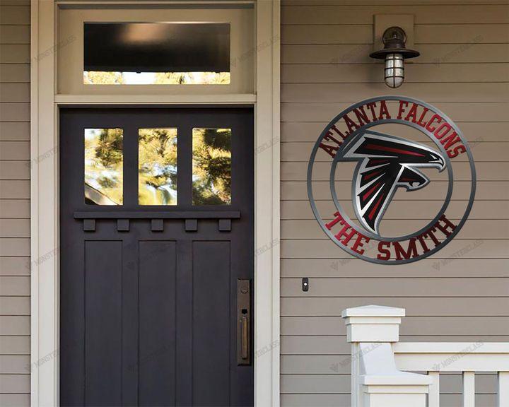 Atlanta Falcons customized cut metal sign wall decor