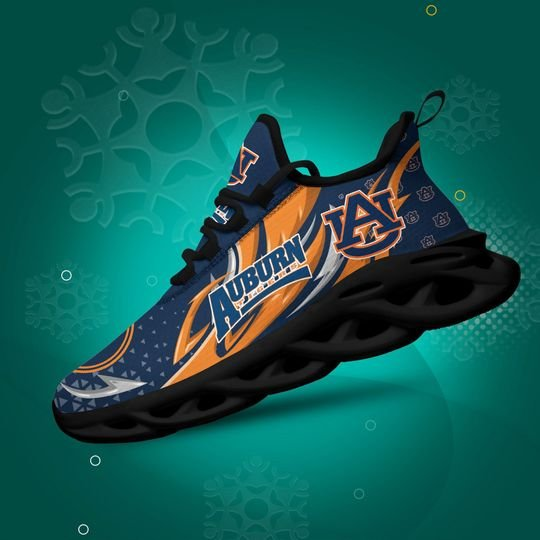 Auburn Tigers clunky max soul shoes 1