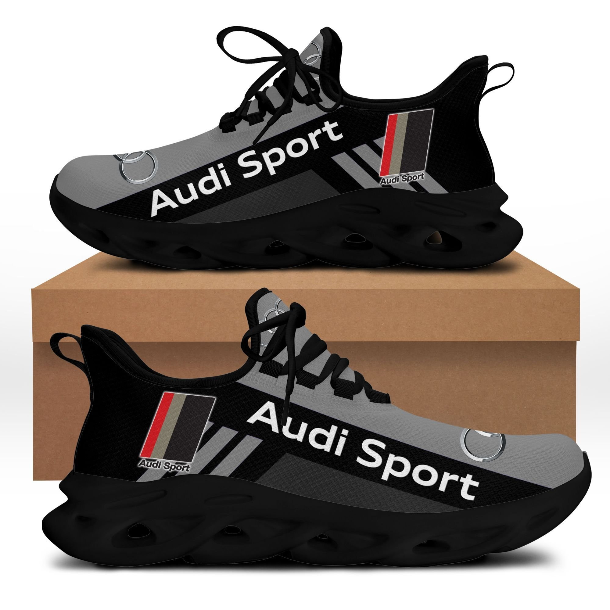 Audi Sport clunky max soul shoes