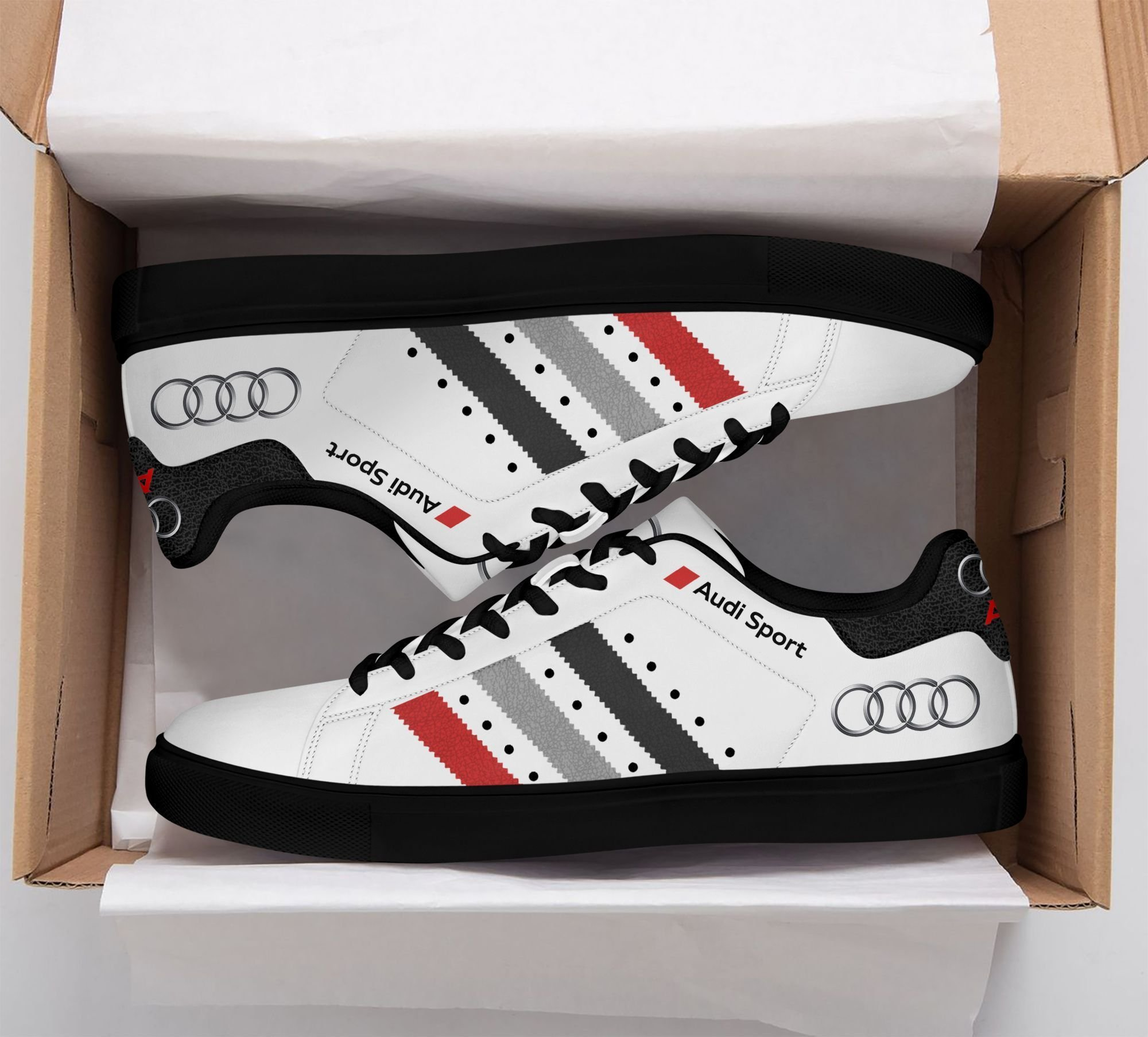 Audi Sport stan smith low top shoes 1