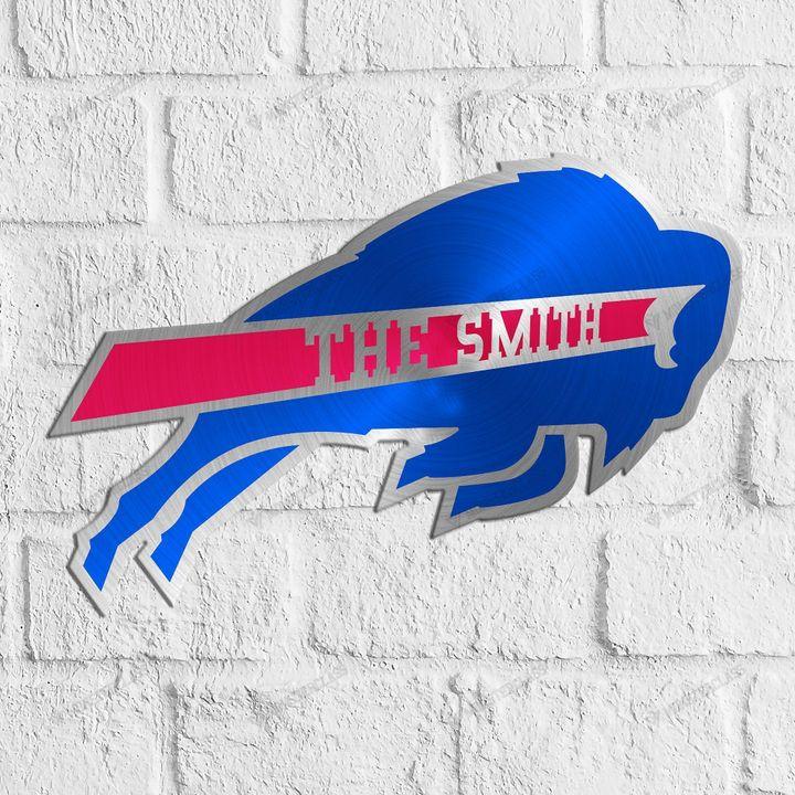 Buffalo Bills customized cut metal sign wall decor1