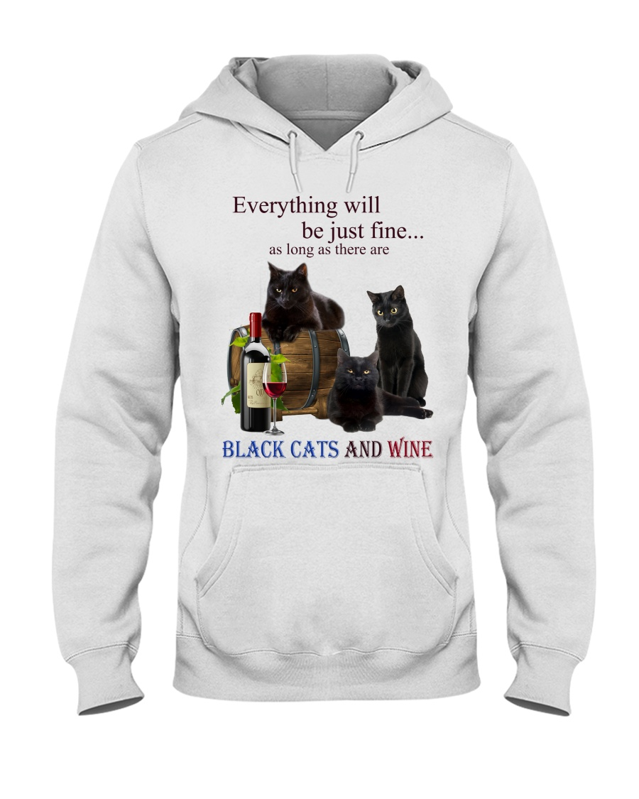 Cat Everything Will Be Just Fine As Long As There Are Shirt 13