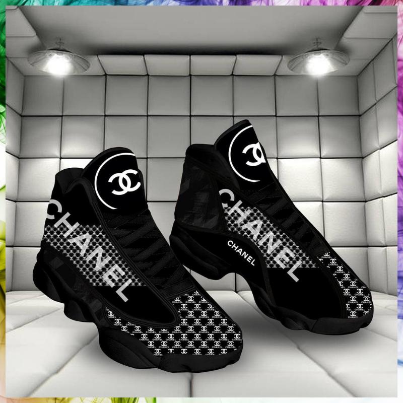 Chanel luxury air jordan 13 sneaker shoes 2