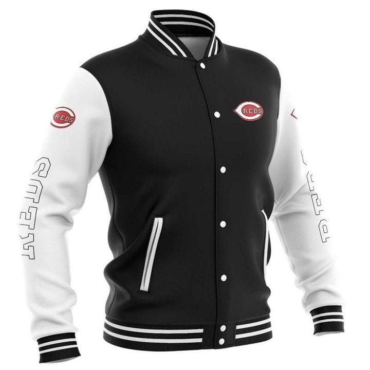 Cincinnati reds baseball jacket 3