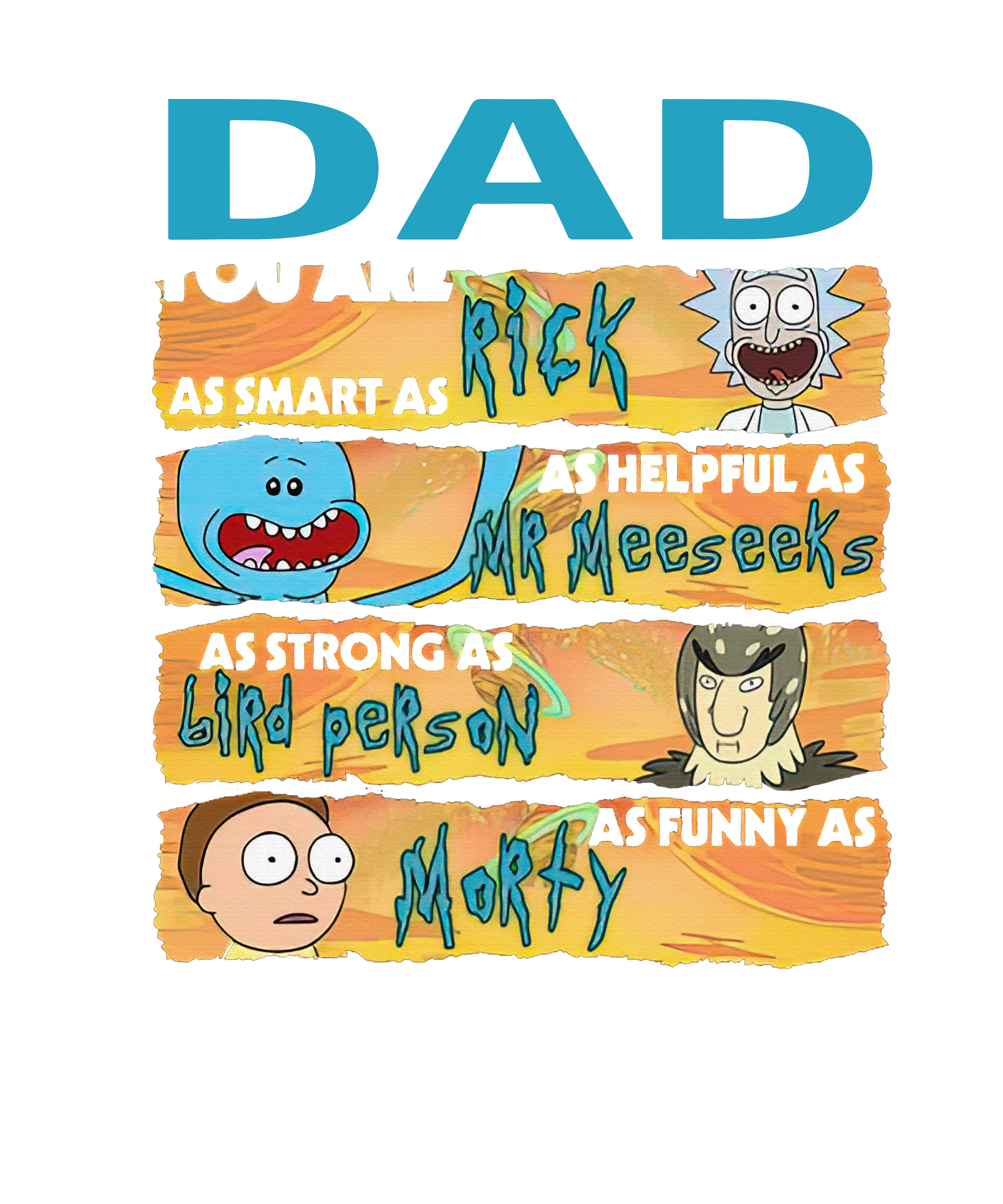 DAD RlCK AND M0RTY 1805L