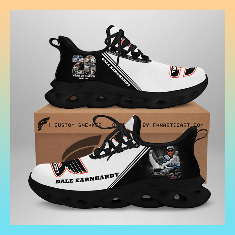 Dale Earnhardt Nascar Clunky Max soul Custom Name shoes