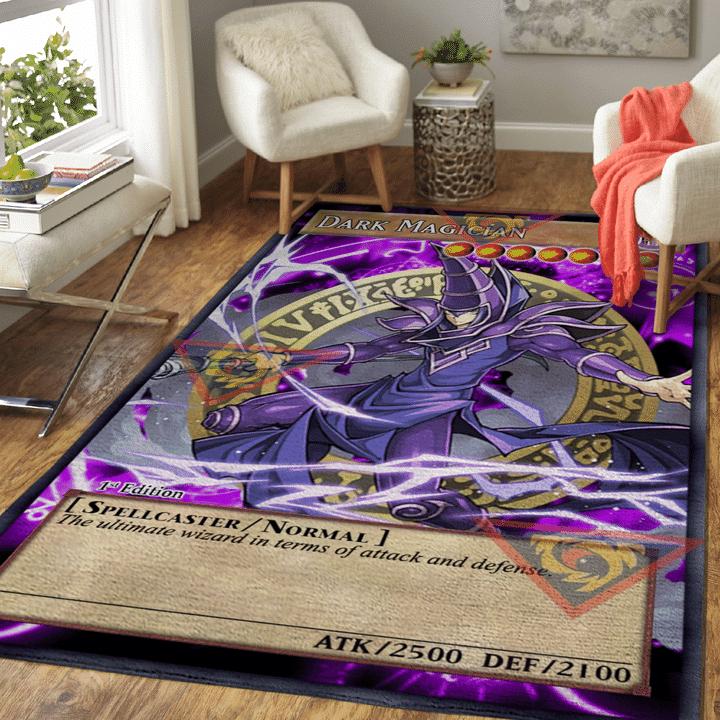 Dark Magician card Rug
