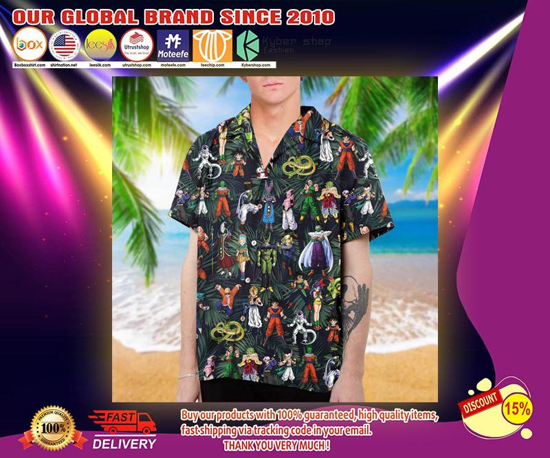 Dragon Ball hawaiian shirt 2
