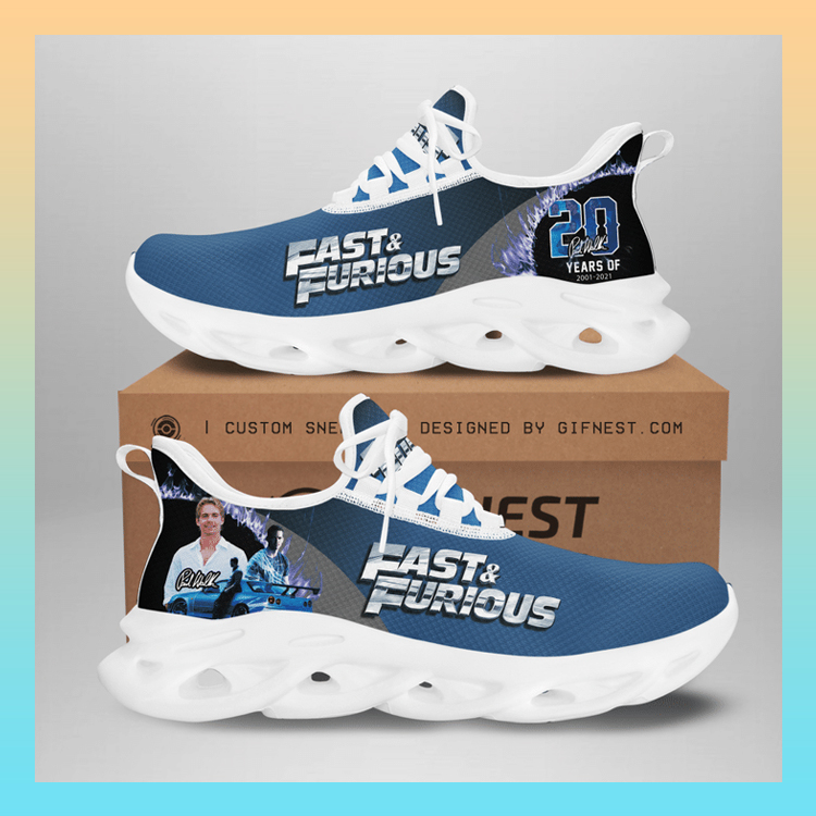 Fast And Furious Clunky Max soul Custom Name shoes