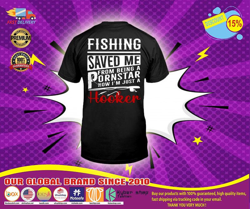 Fishing saved me T-shirt
