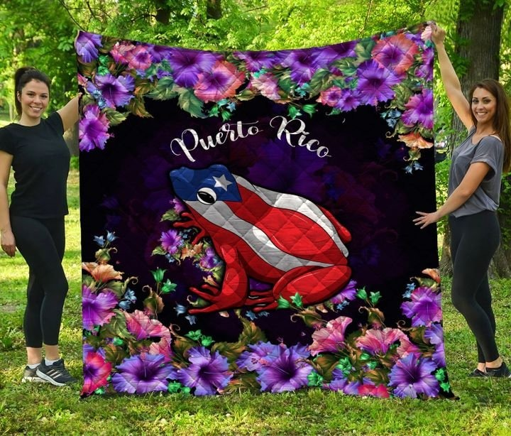 Frog Puerto rico bedding set