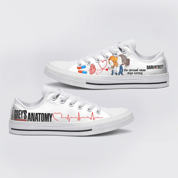 Greys Anatomy Low Top Shoes