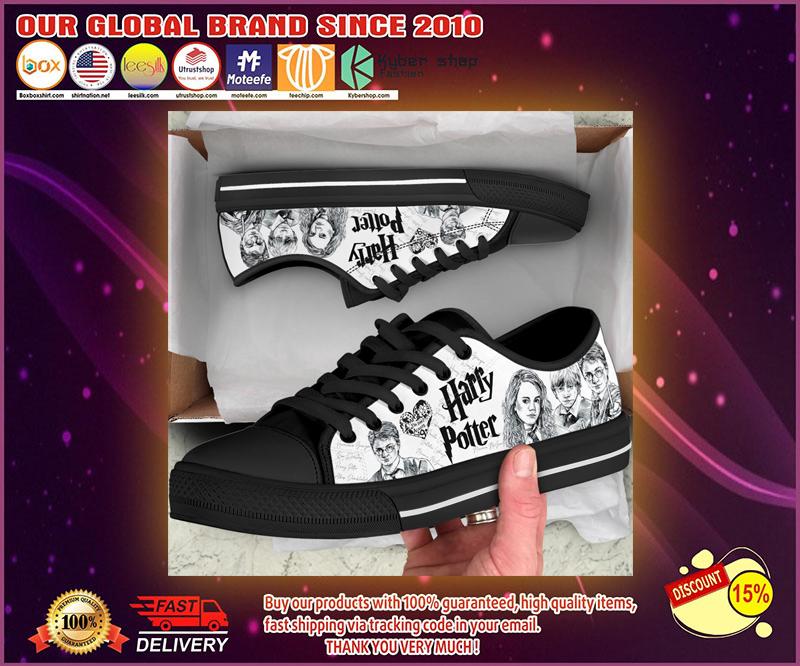 Harry Potter low top canvas shoes 1