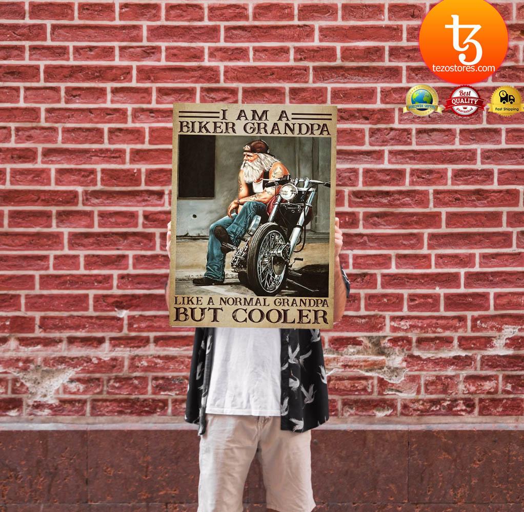 I am a biker grandpa like a normal grandpa but cooler poster 11