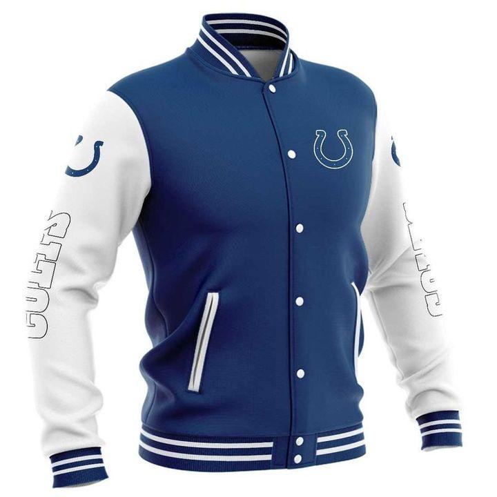Indianapolis colts baseball jacket 4