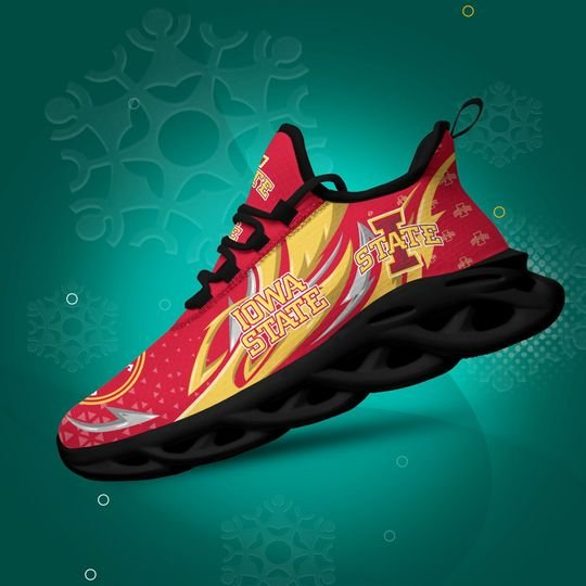 Iowa State Cyclones clunky max soul high top shoes