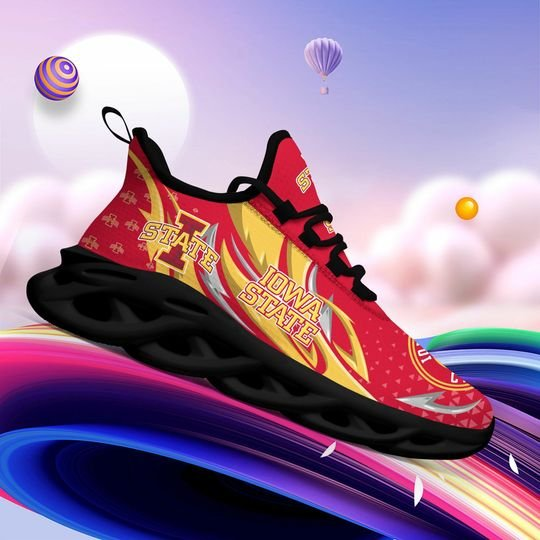 Iowa State Cyclones clunky max soul high top shoes4