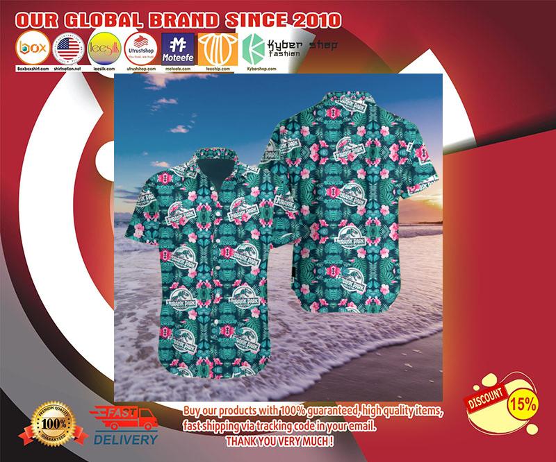 Jurassic park 3d hawaii shirt 2