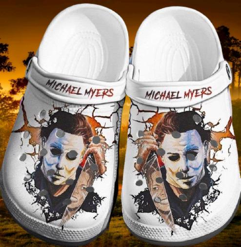 Michael Myers Crocband Crocs Clog Shoes 16