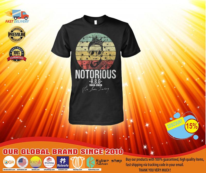 Notorious rbg 1033-2020 shirt 1