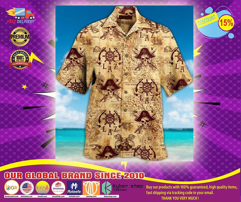 Pirate Unisex Hawaiian Shirt1