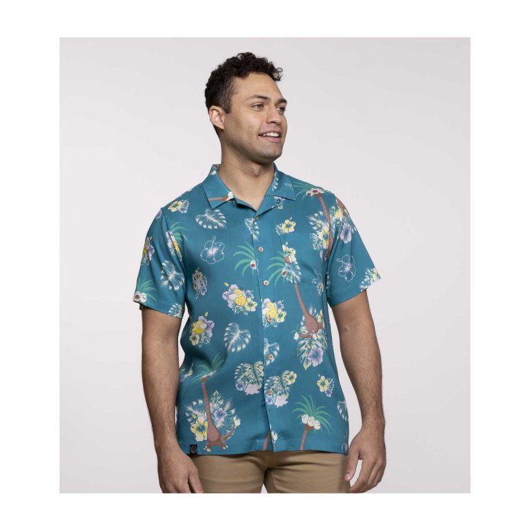 Pokemon tropical alolan exeggutor friends hawaiian shirt 4
