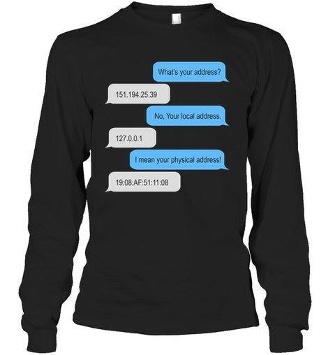 Programmer What's Your Address no Your Local Address Shirt 13