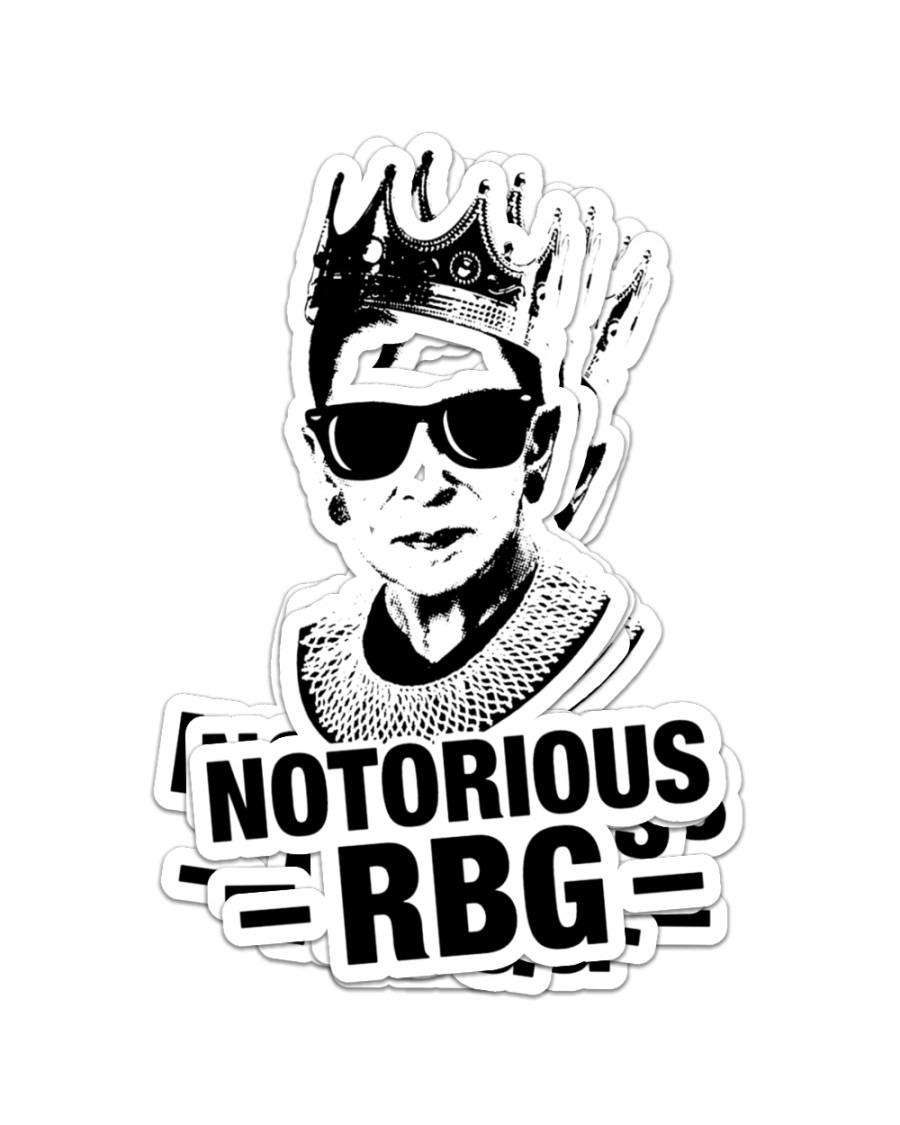Ruth Bader notorious RBG sticker