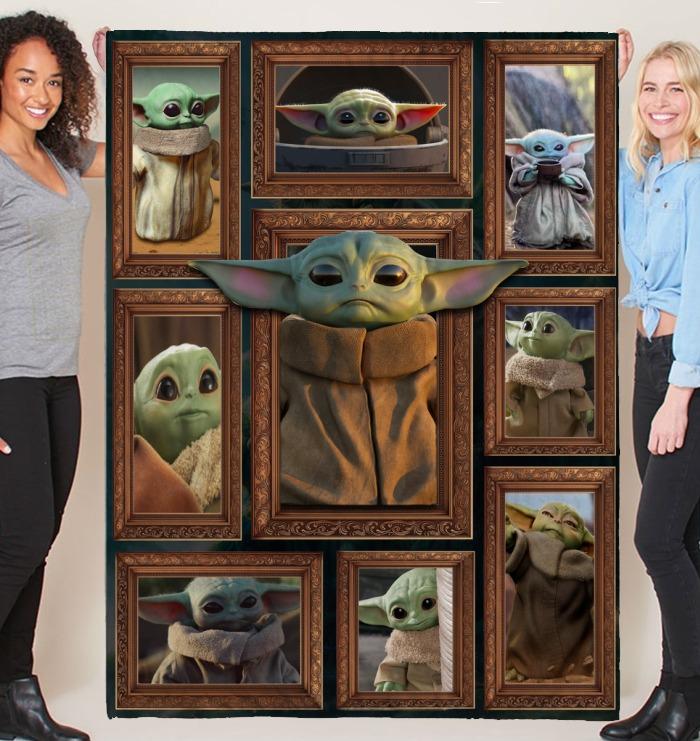 Star War Baby Yoda Blanket