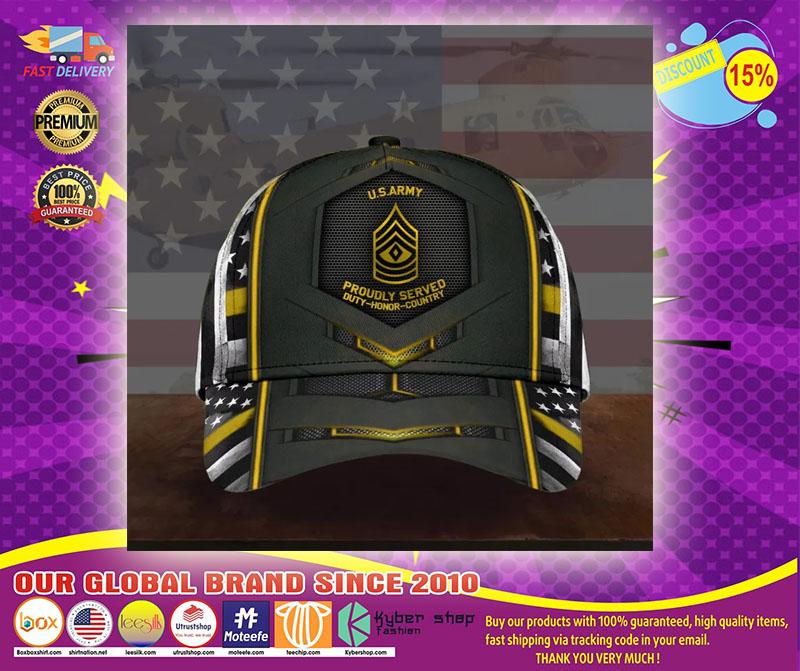 US army military cap