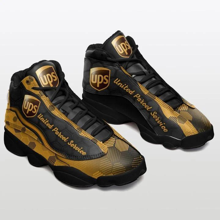 United Parcel Service Air Jordan 13 sneaker Shoes1