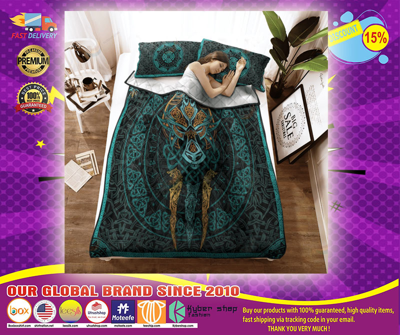 Viking fernir bedding set