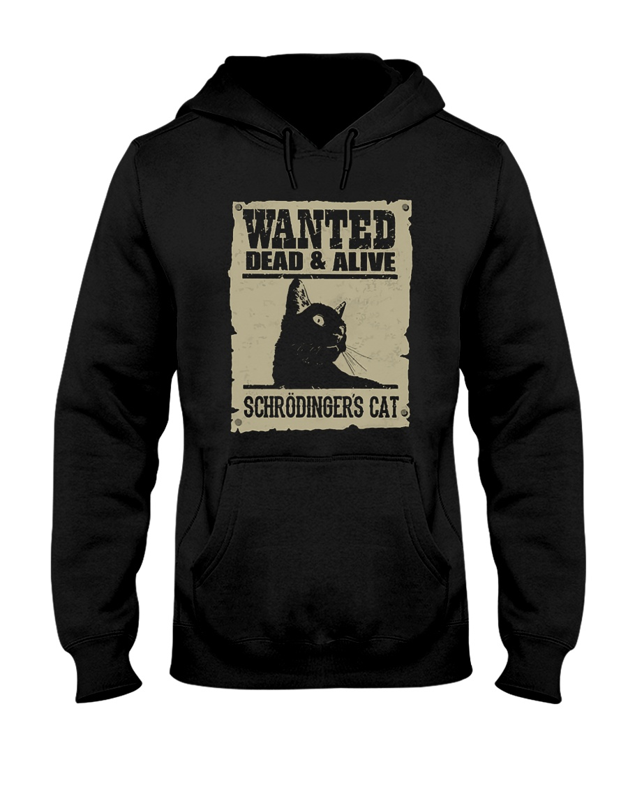 Wanted Dead And Alive Schrodingers Cat Shirt 1