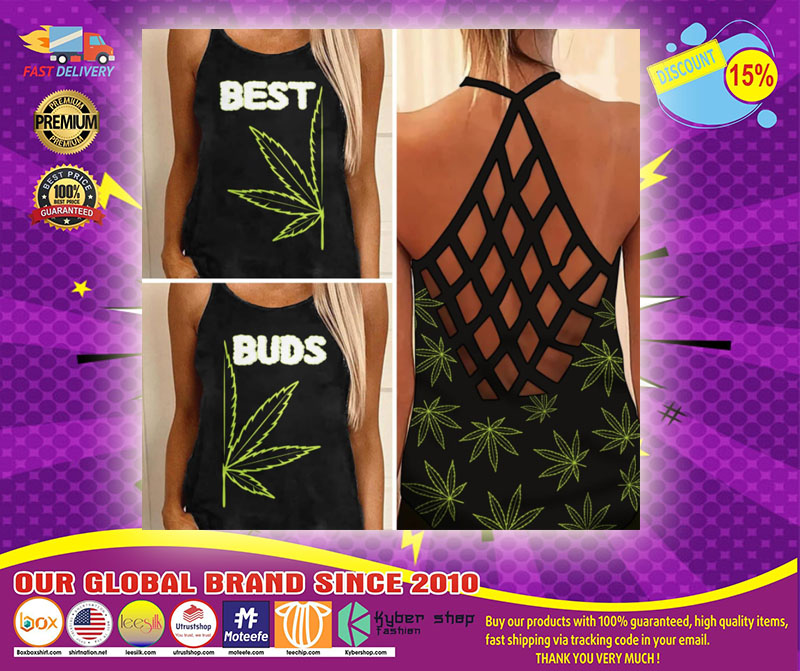 Weed Cannabis best bud Strappy tank top
