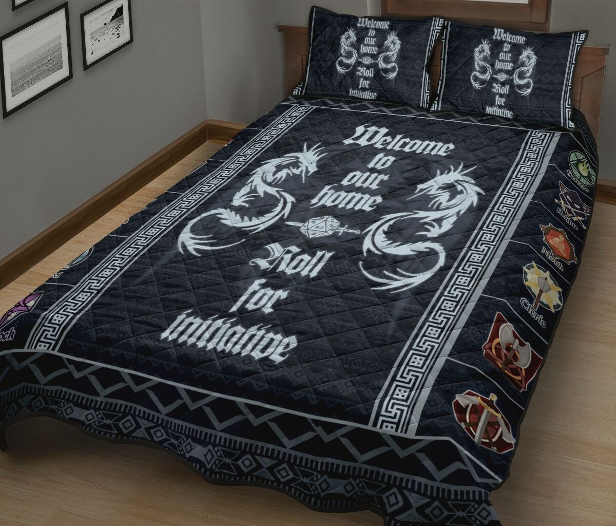 Welcome to out home quilt bedding set