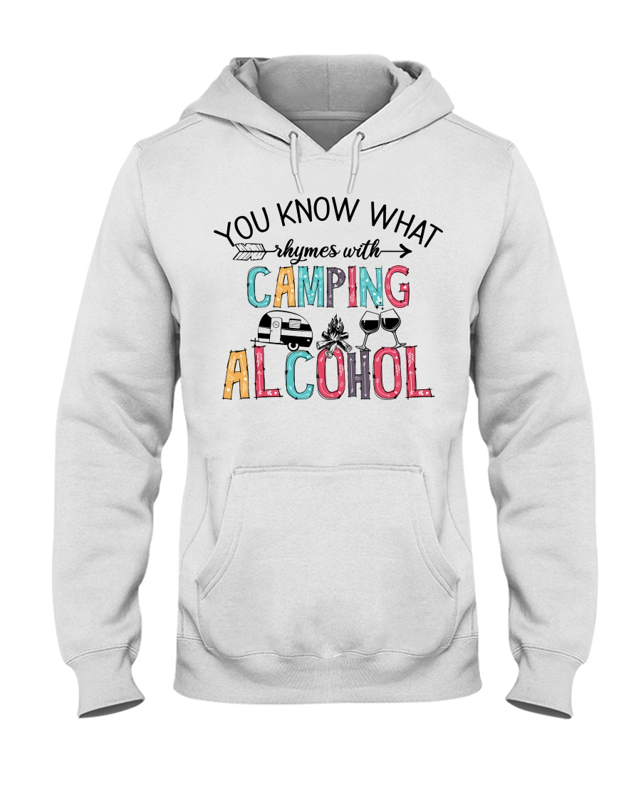 You Know What Camping Alcohol Shirt 11