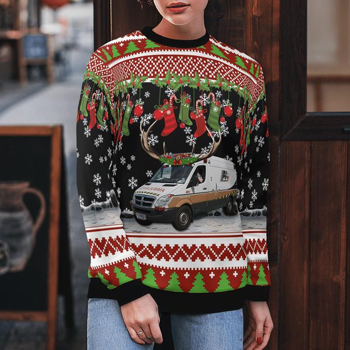 Acadian Ambulance Texas Ugly Christmas Sweater4