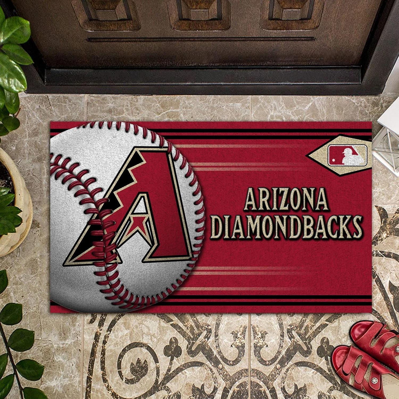 Arizona Diamondbacks Baseball Doormat